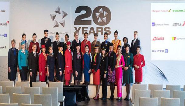 Star Alliance proslava 20 godina