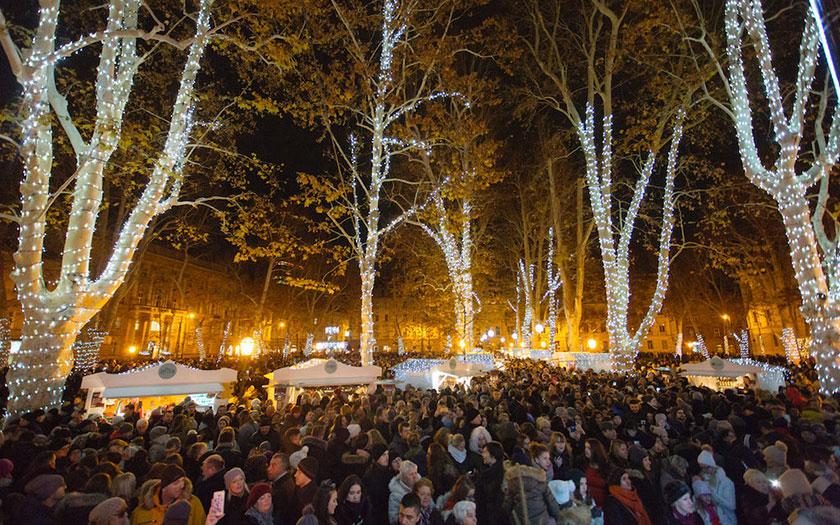 Advent na Zrinjevcu, Katapult promocija