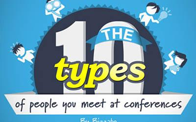 Deset tipova ljudi koje susrećete na konferencijama