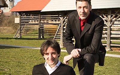 Tomaž Kavčič i Franci Kek