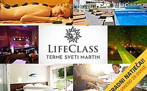 LifeClass Terme Sveti Martin poklanjaju vikend paket za dvoje