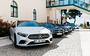U Brown Beach House hotelu predstavljena nova Mercedesova A klasa