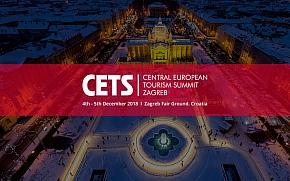 Prvi turističko poslovni sajam CETS -  Central European Tourism Summit krajem godine u Zagrebu