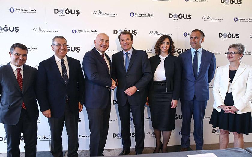 Predstavnici Dogus grupe i EBRD-a