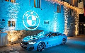 Premijera BMW serije 8 Coupé u dvorcu Martinis Marchi