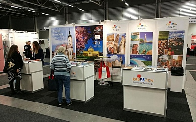 Predstavljanje hrvatske turističke ponude na sajmu Seniormässan u Švedskoj