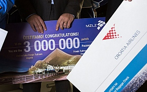 Zračna luka Franjo Tuđman bilježi rekorde u prometu putnika