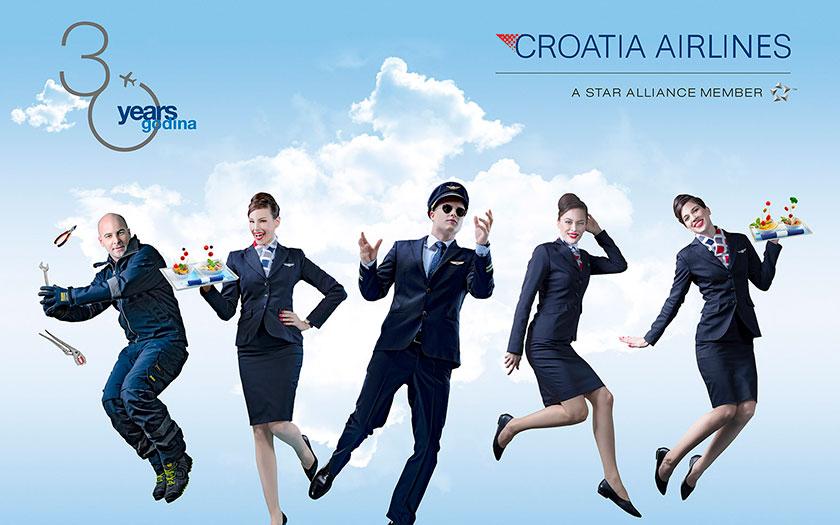 Croatia Airlines - Stvaramo uspomene već 30 godina