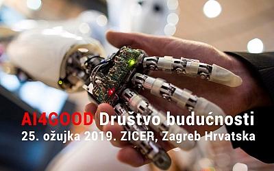 Konferencija AI4Good:  inteligencija za društvo bolje budućnosti