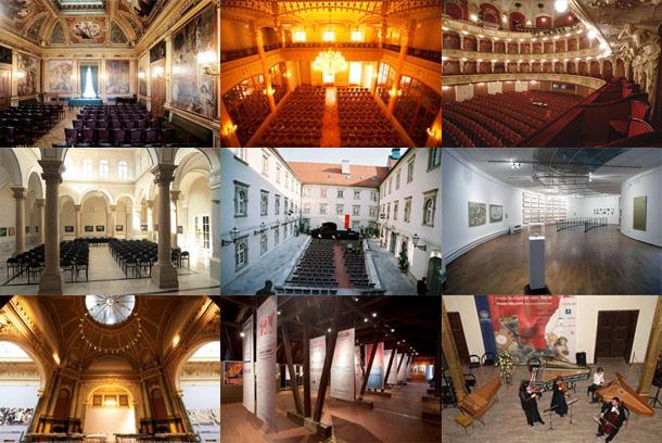Zagreb - posebne dvorane