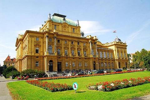 Hrvatsko narodno kazalište u Zagrebu 1