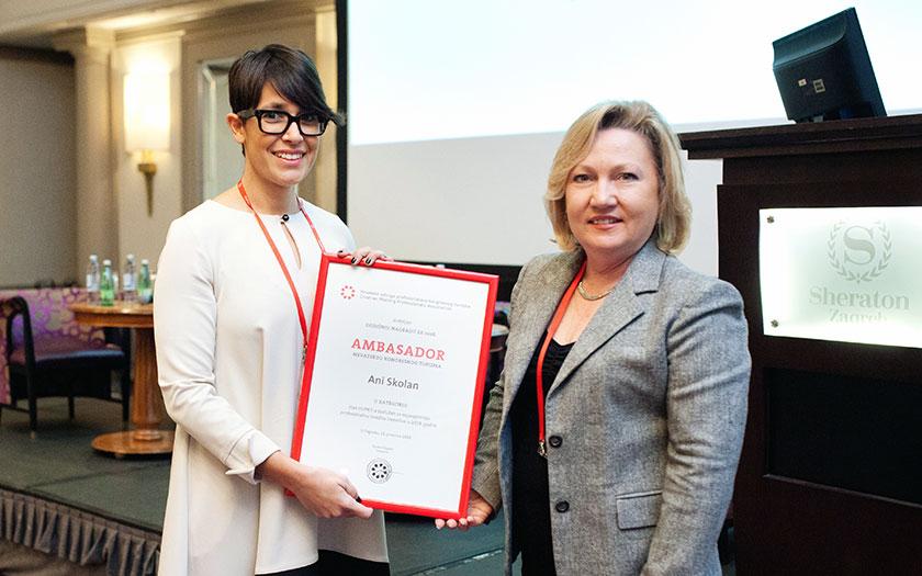 Sedmi Forum hrvatske kongresne industrije, Ana Skolan