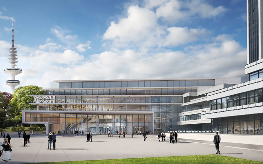 CCH - kongresni centar Hamburg