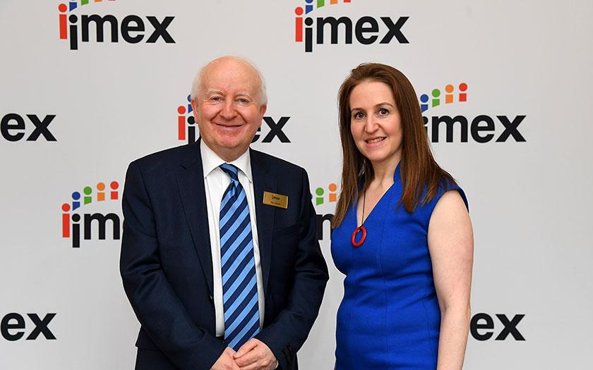 IMEX Frankfurt 2019, Ray Bloom i Carina Bauer