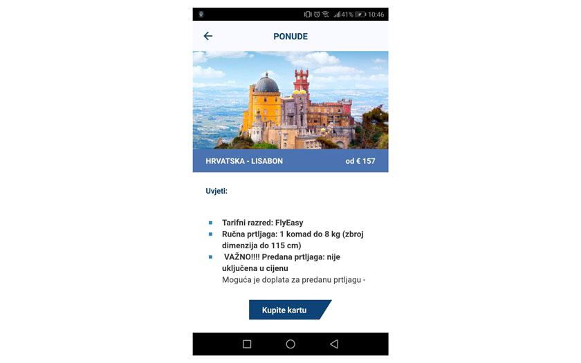 Nova mobilna aplikacija Croatia Airlinesa