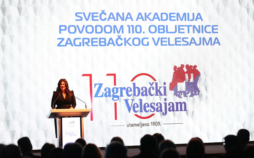 Zagrebački velesajam, Dina Tomšić