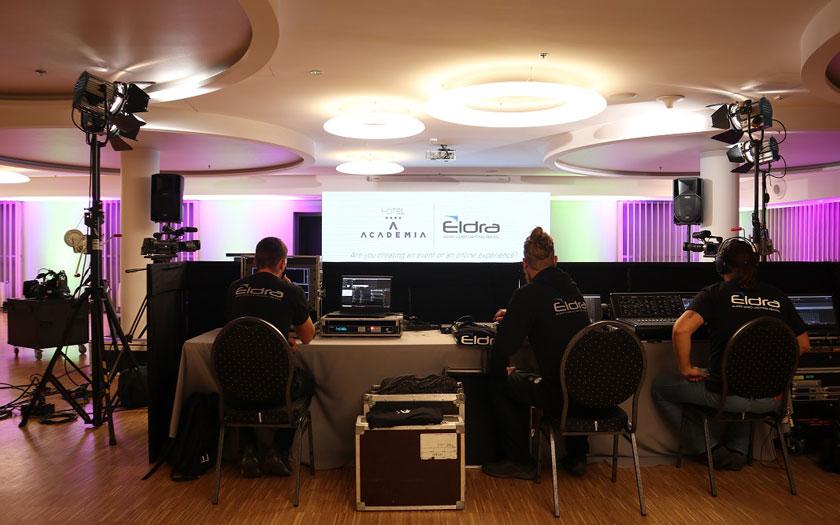 Hotel Academia - studio za virtualna događanja