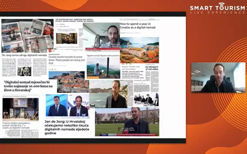 Jan de Jong @ Smart Tourism Meet up