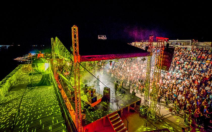 Koncert na Tvrđavi sv. Mihovil