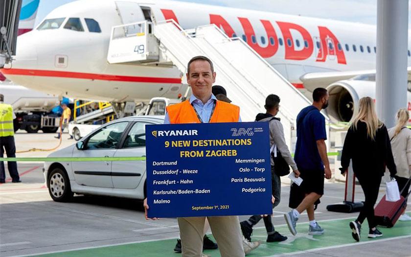 Ryanair u Zagrebu