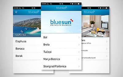 Bluesun je prvi hotelski lanac u Hrvatskoj s mobilnom aplikacijom