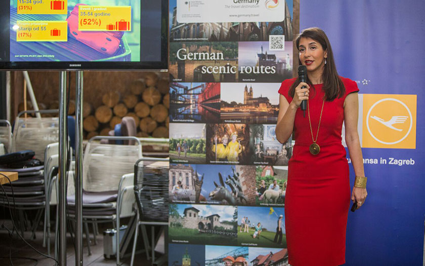 "Tijana Đuričić ""Germany Simply Inspiring"""
