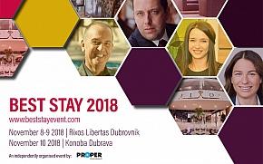 Best Stay 2018 - Najnoviji trendovi za stvaranje najboljeg iskustva gosta