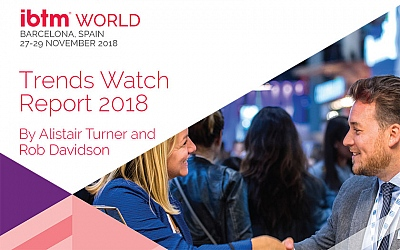IBTM World Trends Watch - godišnji izvještaj o trendovima u kongresnoj industriji za 2019.