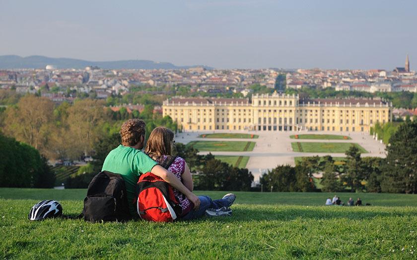 Pogled na Schönbrunn