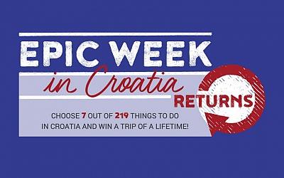Ponovno pokrenuta kampanja Epic Week in Croatia