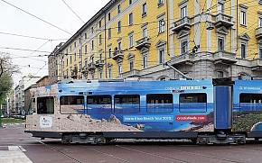 Motivi Hrvatske na autobusima i tramvajima velikih europskih gradova