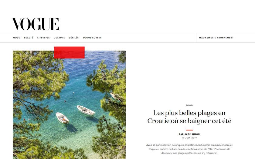Hrvatska u francuskom Vogueu