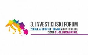 AHT Forum 2019 - 3. Investicijski forum zdravlja, sporta i turizma Adriatic regije