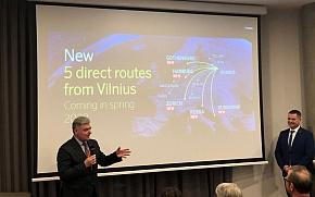 Dubrovnik i Rijeka direktnom aviolinijom u 2020. povezani s glavnim gradom Litve