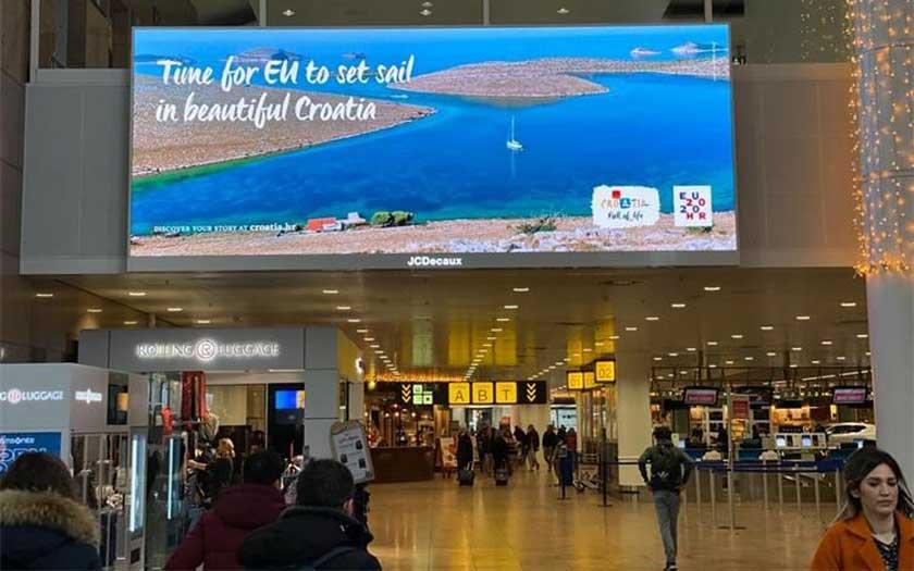 Kampanja HTZ-a u Bruxellesu povodom predsjedanja Vijećem EU