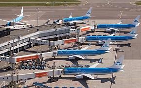 KLM - Zrakoplovi zarobljeni u zrakoplovnoj luci