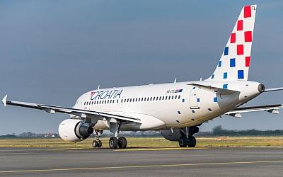 Croatia Airlines uvodi letove Zagreb - Split i Zagreb - Dubrovnik
