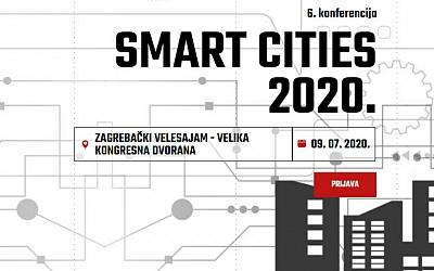 Konferencija Smart cities 2020. u srpnju u Zagrebu