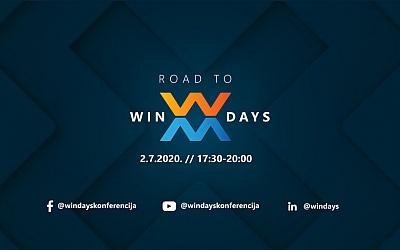 Road to WinDays - online uvod u jesensko izdanje konferencije uživo