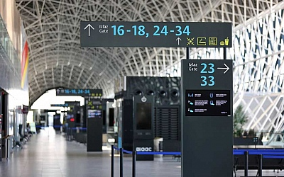 Srpanjski promet u zračnim lukama