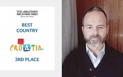 Hrvatska treća najbolja destinacija na svijetu prema The Timesu