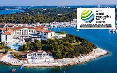 Arena Hospitality Group - priznanje za odgovorni turizam na WTM burzi