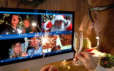 Ideje za zabavan i interaktivan virtualni božićni domjenak ili zabavu