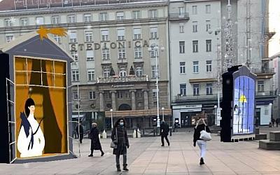 Ugođaj Adventa Zagreb u proširenoj stvarnosti