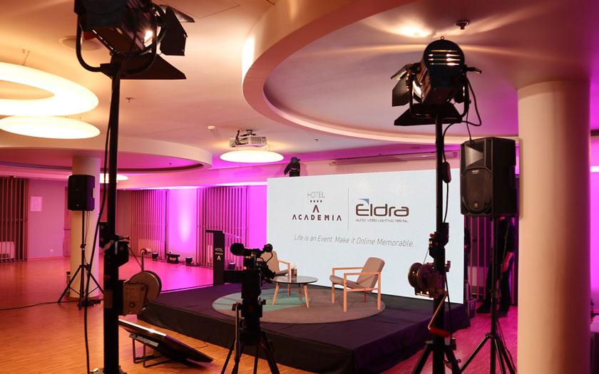 Hotel Academia - studio za virtualna i hibridna događanja