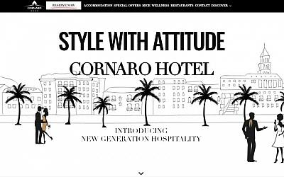 Cornaro Hotel Split predstavio novu web stranicu