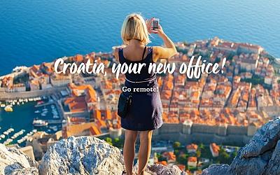Croatia, your new office! - nova kampanja HTZ-a za digitalne nomade