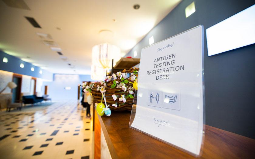 Falkensteiner hoteli gostima omogućuju besplatno antigensko testiranje
