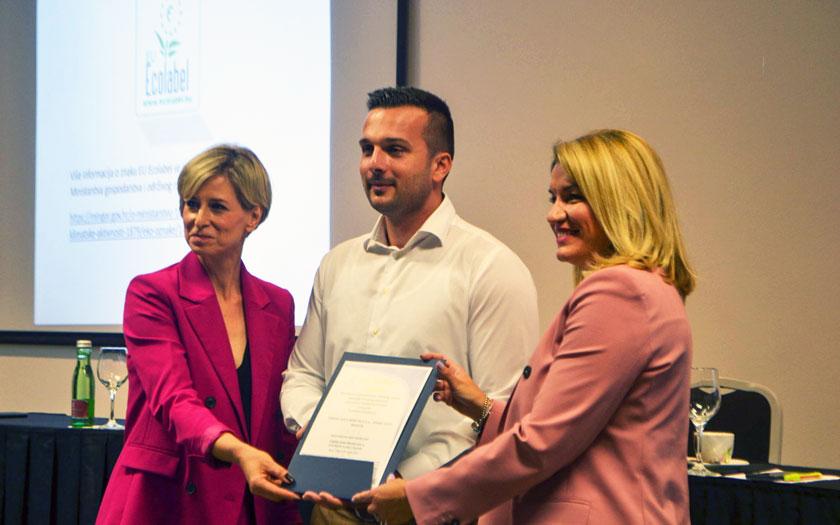 Svečana dodjela certifikata EU Ecolabel Hotelu Terme Sveti Martin