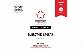 MTLG 2021 - Dubrovnik proglašen najboljom M kongresnom destinacijom